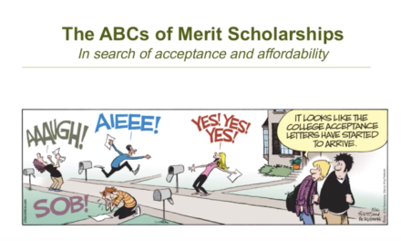 ABC's of Merit Scholarships summary