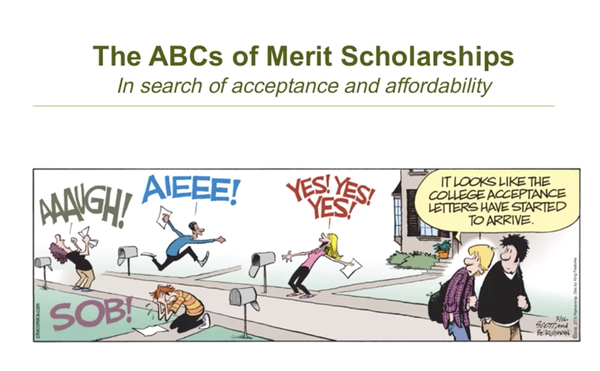 Merit Scholarships The Skinny Issue 12 SocratesPost.com college admissions insiders