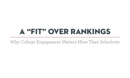 A scientific study: Rankings don't matter. What matters, then?