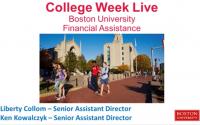 Get financial aid at Boston University: CSS profile & FAFSA nuggets