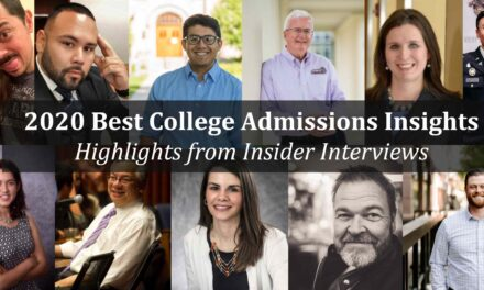 2020's Best College Admissions Advice from Our Insiders